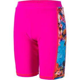 Color Kids Troy AOP UPF Short Enfant, pink glo